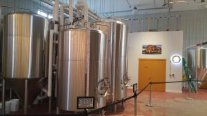 Gull Dam Brewing brewhouse