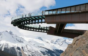 Glacier Skywalk near Alberta's Columbia Icefields