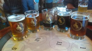 Beer Flight at Great Northern Brewing