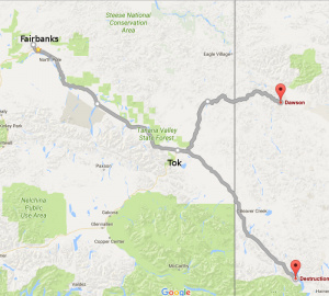 July 12 route map