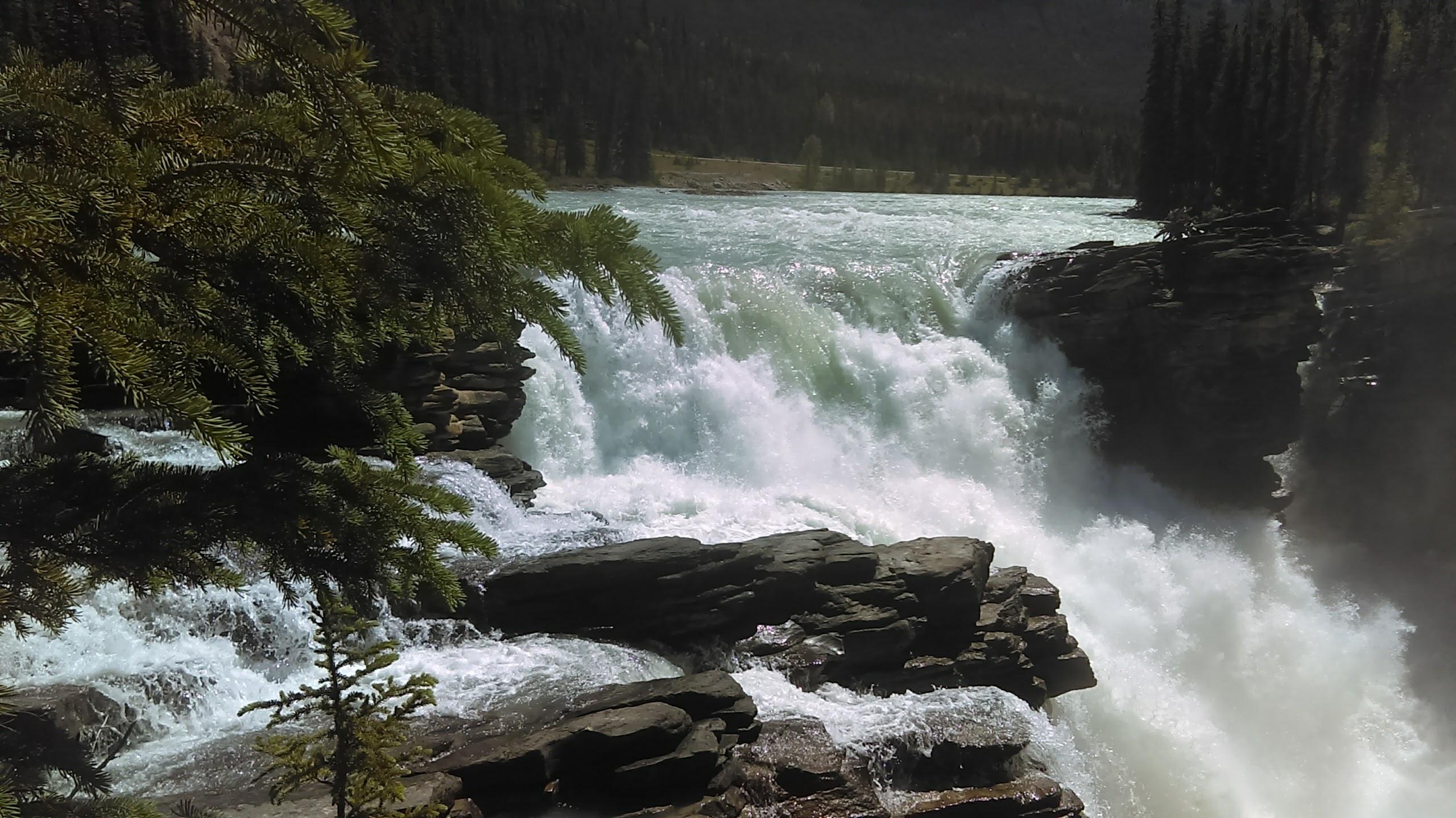 Athabasca Falls Alberta 6-29-2017